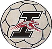 Fan Mats Univ. of Indianapolis Soccer Ball Mat