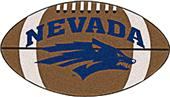 Fan Mats University of Nevada Football Mat