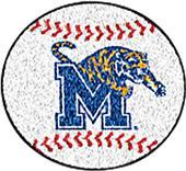 Fan Mats University of Memphis Baseball Mat
