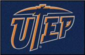 Fan Mats University of Texas-El Paso Starter Mat