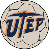 Fan Mats Univ. of Texas-El Paso Soccer Ball Mat