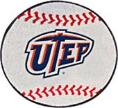 Fan Mats University of Texas-El Paso Baseball Mat