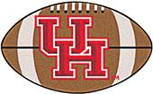Fan Mats University of Houston Football Mat