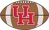 Fan Mats University of Houston Football Mat