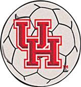 Fan Mats University of Houston Soccer Ball Mat