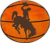Fan Mats University of Wyoming Basketball Mat