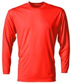 A4 Cooling Performance Adult Long Sleeve Crew