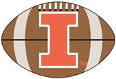 Fan Mats University of Illinois Football Mat