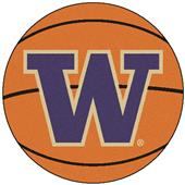 Fan Mats University of Washington Basketball Mat