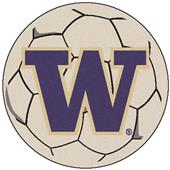 Fan Mats University of Washington Soccer Ball Mat