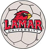 Fan Mats Lamar University Soccer Ball Mat