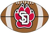 Fan Mats University of South Dakota Football Mat