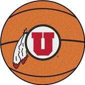 Fan Mats University of Utah Basketball Mat