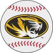 Fan Mats University of Missouri Baseball Mat