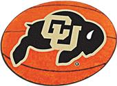 Fan Mats University of Colorado Basketball Mat