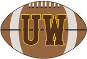 Fan Mats University of Wyoming Football Mat