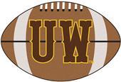 Fan Mats University of Wyoming Football Mat