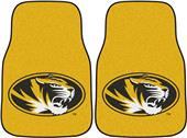 Fan Mats Univ of Missouri Carpet Car Mats (set)