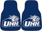 Fan Mats NCAA New Hampshire Carpet Car Mats (set)