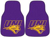 Fan Mats Northern Iowa Carpet Car Mats (set)