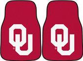Fan Mats Univ of Oklahoma Carpet Car Mats (set)