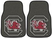 Fan Mats NCAA South Carolina Carpet Car Mats (set)