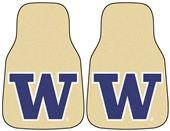 Fan Mats Univ of Washington Carpet Car Mats (set)