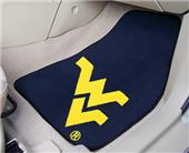 Fan Mats West Virginia Univ Carpet Car Mats (set)