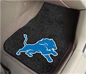 Fan Mats Detroit Lions Carpet Car Mats (set)