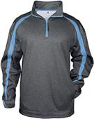 Badger Sport Polyester Fusion Quarter Zip Pullover