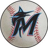 Fan Mats Miami Marlins Baseball Mat
