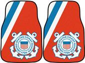 Fan Mats United States Coast Guard Car Mats (set)