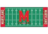 Fan Mats University of Maryland Football Runner