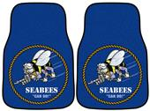Fan Mats Navy Seabees Carpet Car Mats (set)