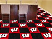 Fan Mats University of Wisconsin Team Carpet Tiles
