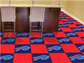 Fan Mats Buffalo Bills Team Carpet Tiles