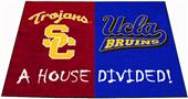 Fan Mats USC Trojans/UCLA Bruins House Divided Mat