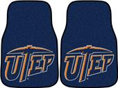 Fan Mats Univ. of Texas Carpet Car Mats (set)