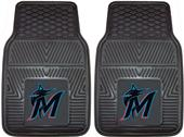 Fan Mats Miami Marlins Car Mats (set)