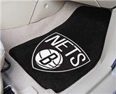 Fan Mats Brooklyn Nets Carpet Car Mats (set)