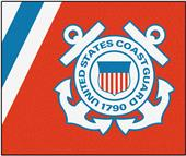 Fan Mats United States Coast Guard Tailgater Mat