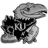 Fan Mats Univ. of Kansas Chrome Vehicle Emblem