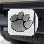 Fan Mats Clemson University Chrome Hitch Cover