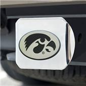 Fan Mats University of Iowa Chrome Hitch Cover