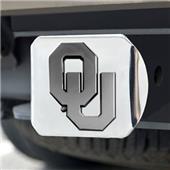Fan Mats University of Oklahoma Chrome Hitch Cover