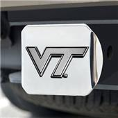 Fan Mats Virginia Tech Chrome Hitch Cover