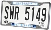 Fan Mats UNC Chapel Hill License Plate Frame
