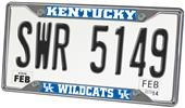 Fan Mats Univ. of Kentucky License Plate Frame