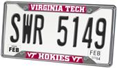Fan Mats Virginia Tech License Plate Frame