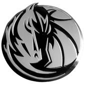 Fan Mats Dallas Mavericks Chrome Vehicle Emblem